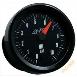 AEM Oil Pressure Gauge - 10...
