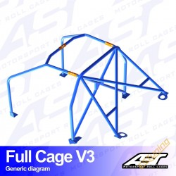 AST Rollcages V1 Weld-In...