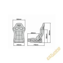 Bride Stradia III Bucket Seat