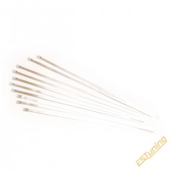 Set of 10 Stainless Steel...